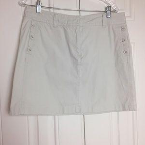 Vineyard Vines | Khaki Mini Skirt | 12